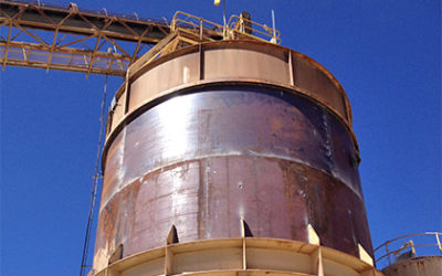 Tank fabrication in processing mill