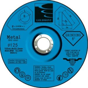 Grinding discs 125mm