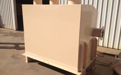 Launder box for processing mill