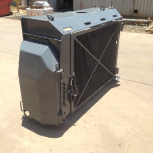 MT65 radiator grill