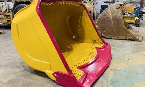 Outcast underground loader bucket design
